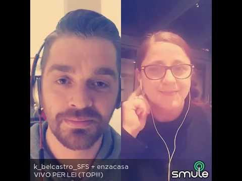 'Vivo per lei' cover with k.belcastro...i love his voice