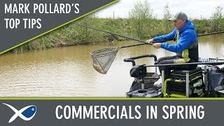 *** Coarse & Match Fishing TV *** Mark Pollard Spring Commercial Tips