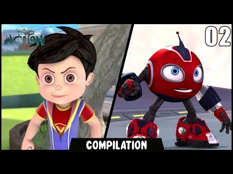 Vir: The Robot Boy & Rollbots | Compilation 02 | Action show for kids | WowKidz Action thumbnail