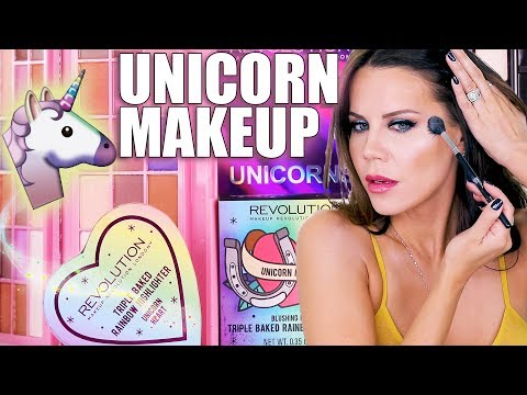UNICORN MAKEUP | Try-on Review