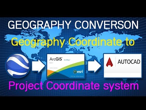 #004 Project spatial data or Convert from Geography coordinate system Project coordinate system