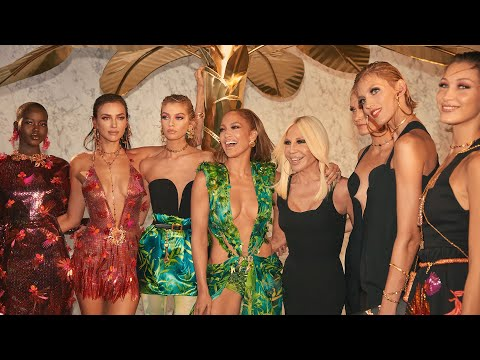 Versace Women's Spring Summer 2020 | Behind the scenes