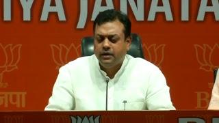 Byte by Dr. Sambit Patra at BJP Head Office, New Delhi