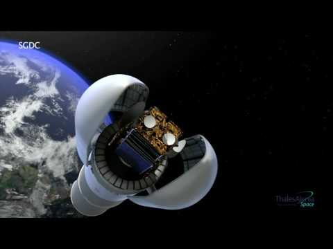 SGDC: the Brazilian dual communications satellite
