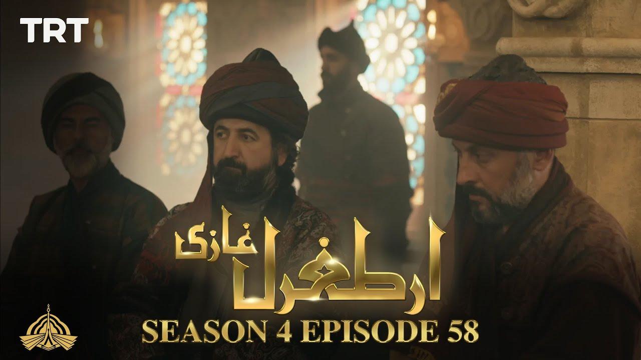 Ertugrul Ghazi Urdu   Episode 58  Season 4