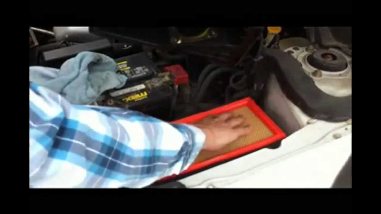 2009 nissan altima fuel filter engine air filter replacement - nissan altima - diy. - youtube 2012 altima fuel filter #6