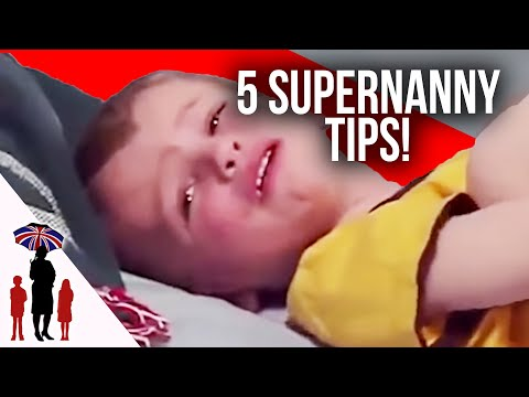 5 Essential Parenting Tips #3 - Naughty Spot, Pacifiers, Household Chores & More | Supernanny