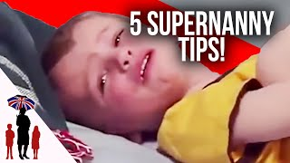5 Essential Parenting Tips #3 - Naughty Spot, Pacifiers, Household Chores & More - Supernanny US