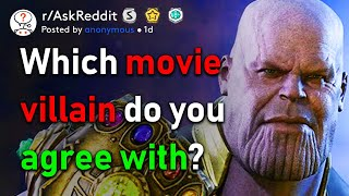 Agree With Movie Villains