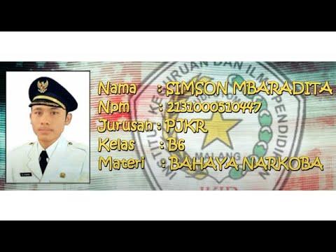 Micro Teaching - BAHAYA NARKOBA || Ikip Budi Utomo Malang Mp3