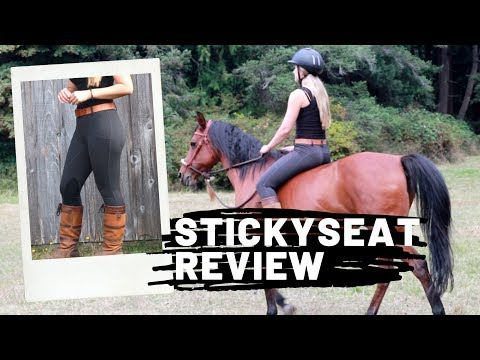 StickySeat Breeches Review + Try On   Equestrian Riding Pant Reviews