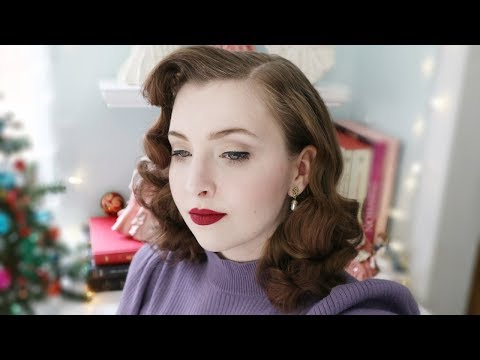 Mid-Century Hair & Makeup Routine / Tutorial