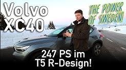 Volvo XC40 T5 R-Design - Schwedischer Kompakt SUV im Test, Review, Fahrbericht