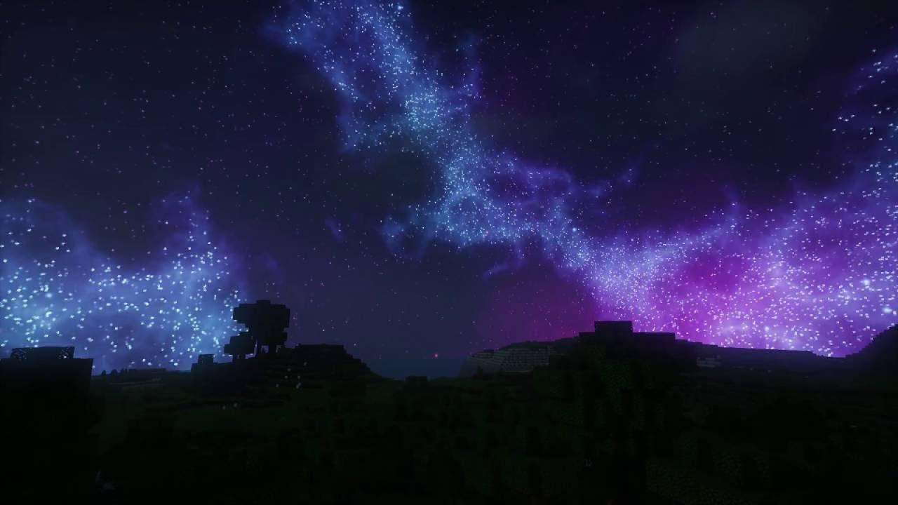 текстуры красивый космос небе для майнкрафт #5