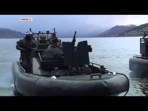 Royal Marines In Loch Ness Assault Exercise