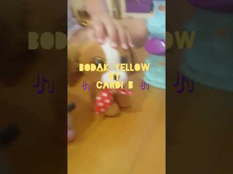 Beanie Boos Band singing BODAK YELLOW by CARDI B