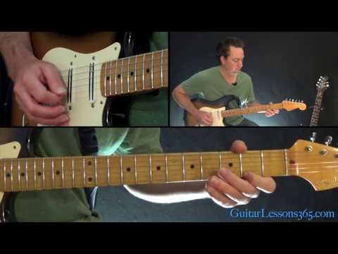 Billy Idol - White Wedding Guitar Lesson