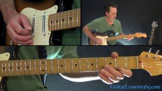 Billy Idol - White Wedding Guitar Lesson