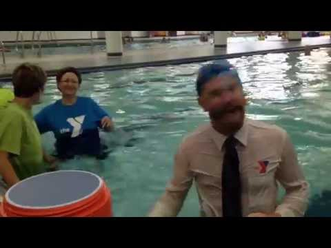 ALS Ice Bucket Challenge Response - Saginaw YMCA 08-20-14