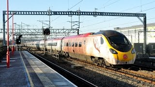 Virgin Trains Pendolino & Voyager Miscellany 2014