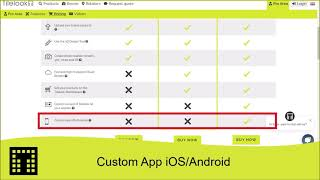 Custom App for iOS and Android