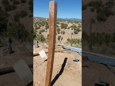 Homemade Wing Chun wooden dummy.  Part 1.
