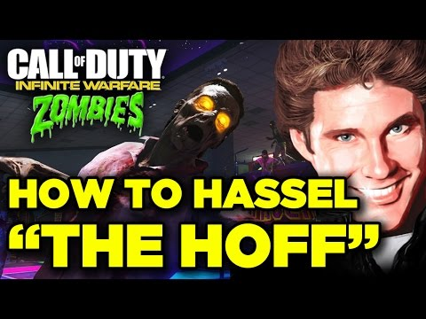 How to get David Hasselhoff in Call of Duty: Infinite Warfare Zombie Mode