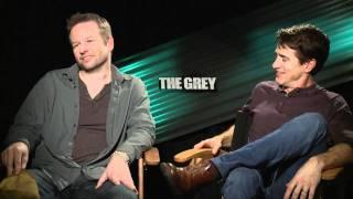 'The Grey' Dermot Mulroney and Dallas Roberts Interview