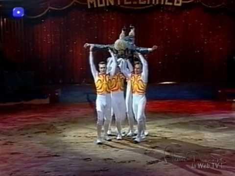 """Marie-Thérèse au """"27e Festival du Cirque de Monte-Carlo"""" (extrait 4)"""