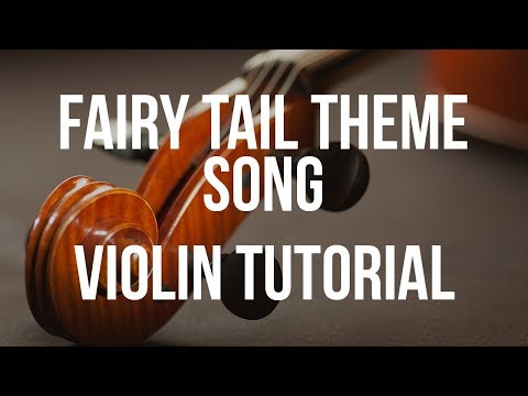 Fairy Tail Violin Sheet Music
