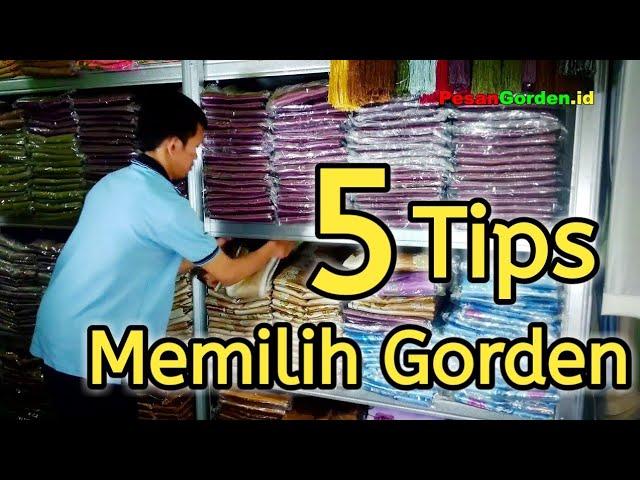 DIY - 5 Cara Memilih Gorden - PesanGorden.id 082310989451 #tutorialgorden #tips