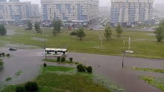 Красноярск затопило/Всемирный потоп 2