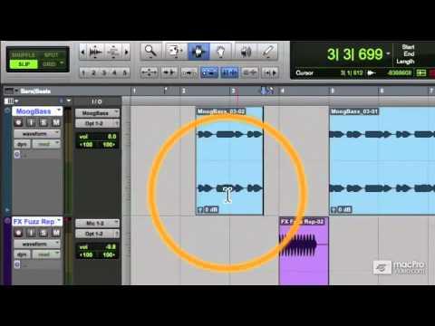 Pro Tools 10 104: Editing Audio – 21 Shifting and Nudging