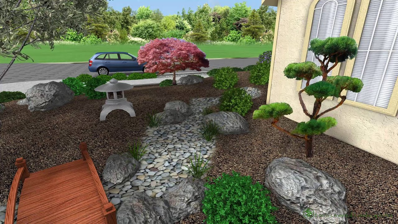 japanese garden design salinas ca front entrance area youtube