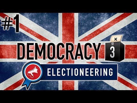 Democracy 3: Electioneering Gameplay PC - Brexit Britain - PART #1 - New Stuff!
