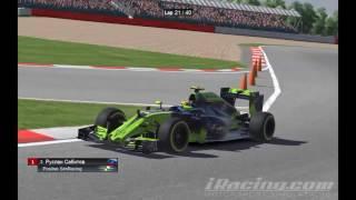 iRacing : Del décimosecto al otavo (F1 - Silverstone)