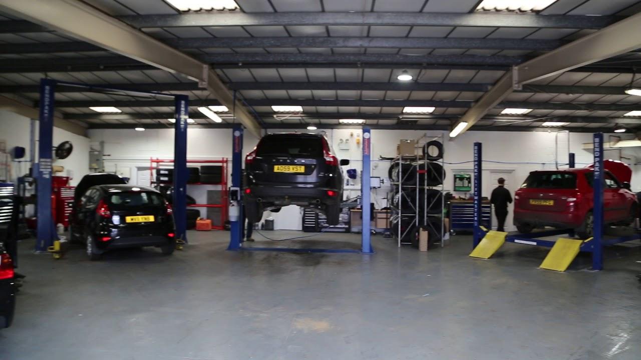 Our car workshop in Martlesham