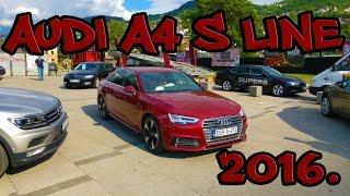 audi a4 s line 2 0 tdi quattro 2016 test vozila