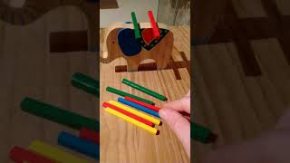 Product demonstration: Gearbest Wooden Elephant Balance Toy