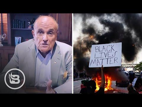 Rudy Giuliani: Black Lives Matter is a Domestic Terrorist Organization | Stu Does America