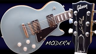 The Highest-End USA LP - Worth Buying? | 2019 Gibson Les Paul Modern Faded Pelham Blue Review + Demo