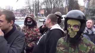 Фашистам нет места в Василькове. Как встречали Мосейчука.