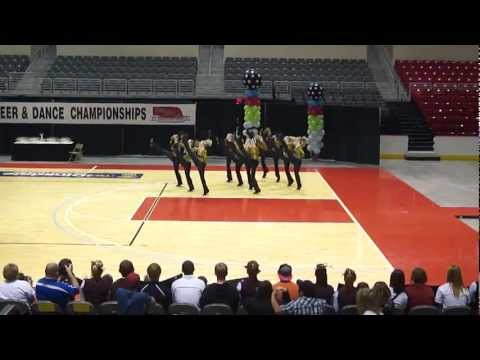 AHS Dance--Nebraska State High Kick 2012