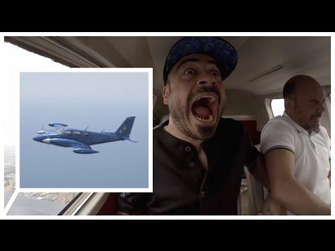 Avioneta acrobacias con Campeona del Mundo