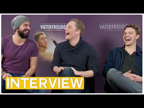 Matthias Schweighöfer, Tom Beck & Friedrich Mücke  Vaterfreuden EXKLUSIVES  2014