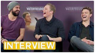 Matthias Schweighöfer, Tom Beck & Friedrich Mücke - Vaterfreuden EXKLUSIVES Interview (2014)