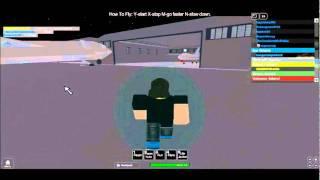 Roblox-crazy plane crash