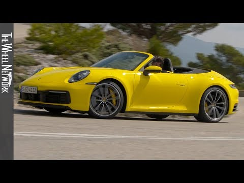 2020 Porsche 911 Carrera 4S Cabriolet | Racing Yellow | Driving, Interior, Exterior