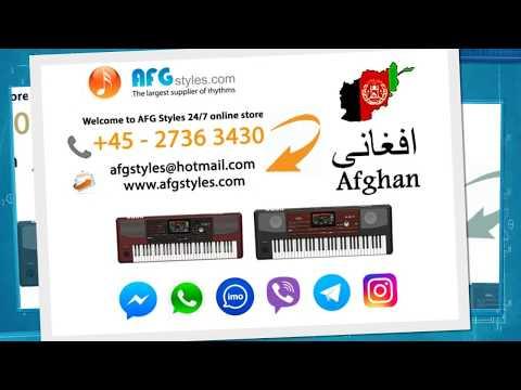New Set Afghan Korg Pa1000 Afghan Korg Pa4x beats rhythms styles