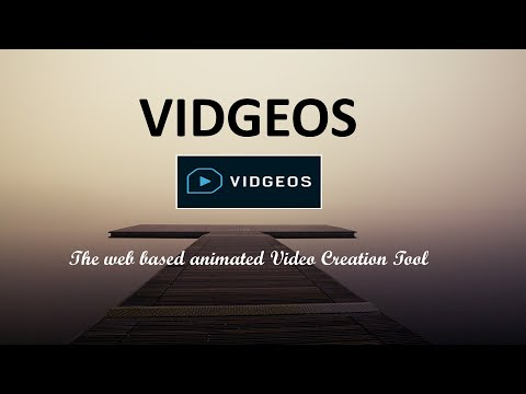 VIDGEOS: Best Web-Based Animated Video Creation Tool: Vidgeos is a web-based animated video creation tool. Get product details, features, what is unique in it, pricing and user reviews in one go. Check out the product at http://www.marketingtoolslab.com/vidgeos/